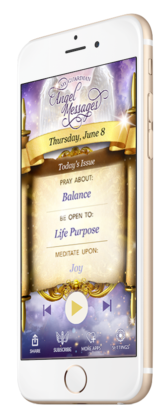 My Guardian Angel Messages app by Doreen Virtue