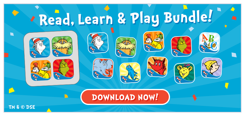 Introducing The Dr. Seuss Read, Learn & Play Bundle! Now available for iPad + iPhone