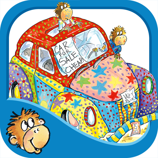 Five Little Monkeys Wash the Car on iTunes App Store